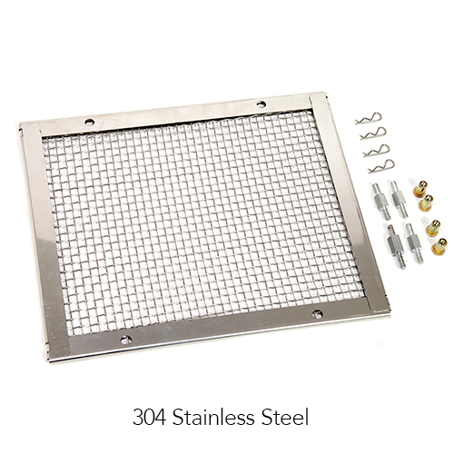 KM-M101 - Protective Mesh (304 Stainless Steel) Mesh + mounting accessories Image